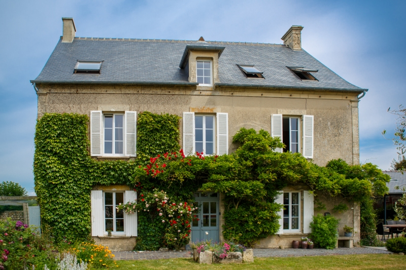 France, région normandie, calvados, bessin, Nonant, maison d hôtes le clos poulain,