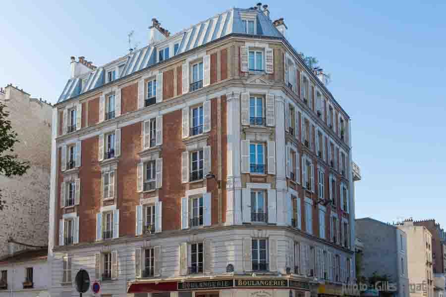 france, region ile d efrance, paris 14e arrondissement, rue hippolyte maindron, la maison hippolyte