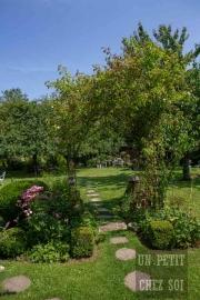 france, region normandie, calvados, sommervieu, histoire de sens, maison et jardin,